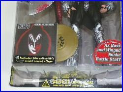 KISS Solo Albums Gold Record Award Variant McFarlane Action Figure 4pc SET 1997