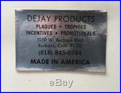 Karyn White 1988 Self Titled Gold & Platinum Record Award Riaa Rare