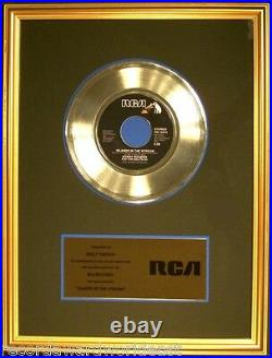 Kenny Rogers & Dolly Parton Islands In The Stream 45 Gold Non RIAA Record Award