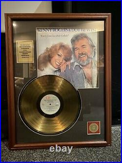 Kenny Rogers & Dottie West Every Time Two Fools Collide 24K Gold LP Award