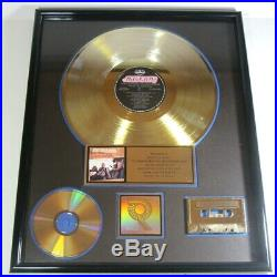 Kentucky Headhunters Pickin' On Nashville Gold Record Riaa Certified Sales Award
