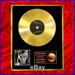 Kesha (ke$ha) Animal CD Gold Disc Lp Record Vinyl Award Display Free P+p
