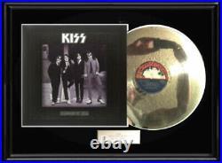 Kiss Dressed To Kill White Gold Silver Platinum Toned Record Lp Non Riaa Award