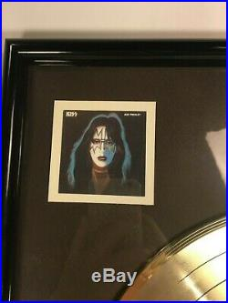 Kiss Solos Gold Record 500,000 Sales In-House Casablanca RIAA Award