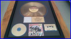 Kiss hotter than hell riaa gold record award presented to eric carr