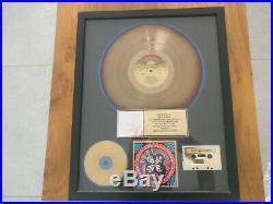 Kiss riaa gold record award rock n roll over