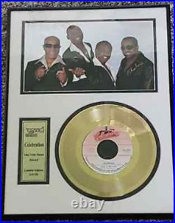 Kool & the Gang 24k Gold Record Award Style Signed #'d