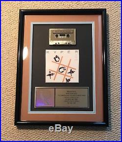 Kyper Gold Sales Award RIAA certified Tic Tac Toe Hip Hop Atlantic Records