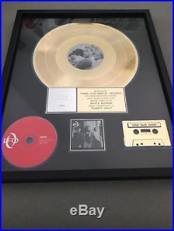 LFO /RIAA / Arista Records Gold Record Award For Summer Girls