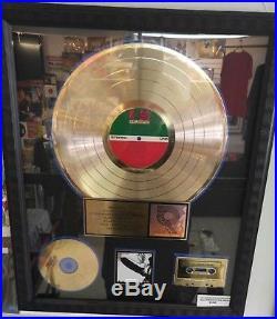 Led Zeppelin I RIAA Gold Sales Award Album Gold Record Debut Album Rare COA