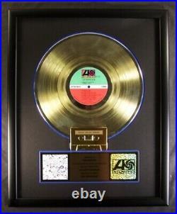 Led Zeppelin Led Zeppelin III LP, Cassette Gold Non RIAA Record Award To Led