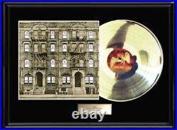 Led Zeppelin Physical Graffiti White Gold Platinum Tone Record Lp Non Riaa Award