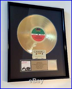 Levert Just Coolin Gold Record Sales Award RIAA Certified