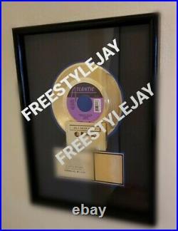 Linear RIAA Gold Award Plaque Freestyle 80s 90s Sending All My Love Atlantic