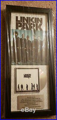 Linkin Park Gold Record Appreciation Award Issued To Tour Bus Company. Mint