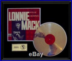 Lonnie Mack Wham Of The Memphis Man Rare Gold Record Disc Lp Award Style