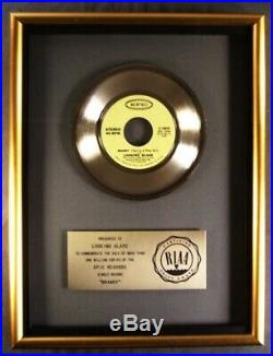 Looking Glass Brandy (You're A Fine Girl) 45 Gold RIAA Record Award Epic Records