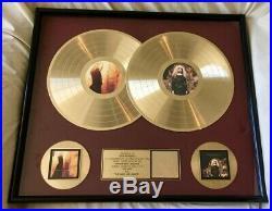 Loreena Mckennitt The Visit & The Mask. 1994 Double Riaa Gold Record Award