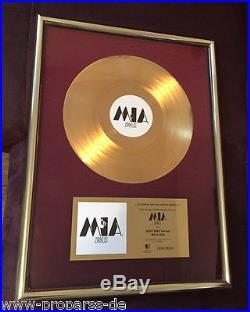 MIA Gold Award goldene Schallplatte Zirkus Echter Musikpreis