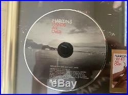 Maroon 5 Hands All Over Gold Record Disc Award Japan Universal Music NOT RIAA