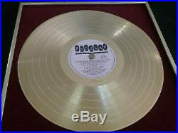Mental As Anything Gold Record Award Signed Greedy Smith R. I. P. Vintage Original