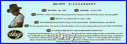 Merle Haggard GOLD RECORD AWARD Big City w-Framed photo & orig. Record labels &