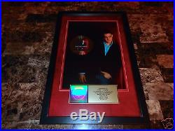 Michael Buble Rare Framed Gold RIAA Record CD Sales Award Artwork With Love REAL