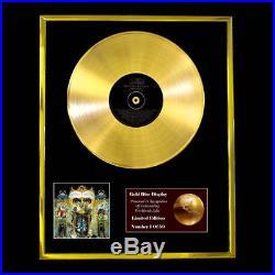 Michael Jackson Dangerous CD Gold Disc Record Vinyl Lp Award Display Free P&p