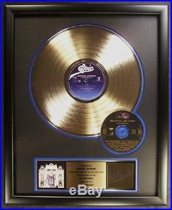 Michael Jackson Dangerous LP & CD Gold Non RIAA Record Award Epic Records