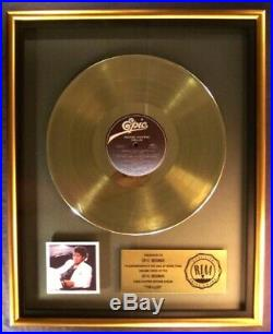 Michael Jackson Thriller LP Gold RIAA Record Award Epic Records To Epic