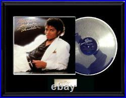 Michael Jackson Thriller Lp White Gold Platinum Tone Record Non Riaa Award