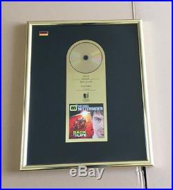 Michael Mittermeier Gold Award (goldene Schallplatte) Back To Life