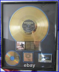 Monica Miss Thang Riaa Gold Record Award-rap/hip-hop