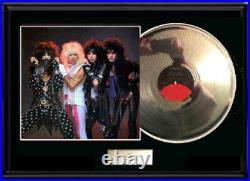 Motley Crue Theater Of Pain White Gold Silvertoned Record Lp Non Riaa Award Rare