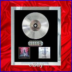 Muse Simulation Theory Multi (gold) CD Platinum Disc Lp Vinyl Record Award
