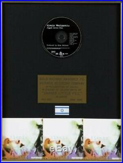 Music Memorabilia- Alanis Morissette- Shakira- Candlebox (Gold Record Awards)