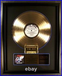 N. W. A NWA Straight Outta Compton LP & Cassette Gold Non RIAA Record Award