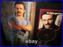 NICE! ORIGINAL Aaron Tippin RECORD AWARD framed country music non RIAA gold