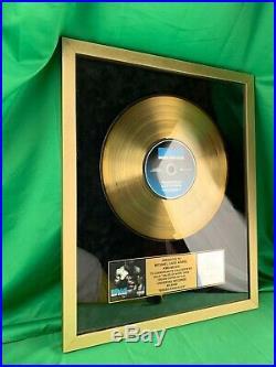 Nelly Brass Knuckles Album CD Riaa Gold Record Rap Award Framed