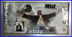 Nelly Country Grammar Non-RIAA In-house Worldwide Gold & Platinum Record Award