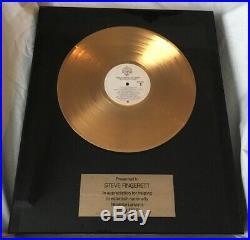 Nicolette Larson Nicolette 1978 Debut Gold Record Award Riaa Rare