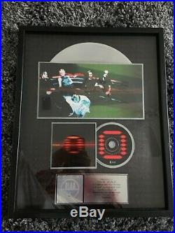 ORGY Band Candyass RIAA Certified Gold Record Plaque Award