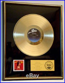 ORIGINAL Vintage SCREAM 1980 Authentic TED NUGENT Framed RIAA GOLD RECORD AWARD