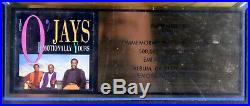 Official O'jays Emotionally Yours Riaa Music Industry Gold Record Sales Award B