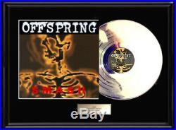 Offspring Smash Lp White Gold Silver Platinum Toned Record Vinyl Non Riaa Award