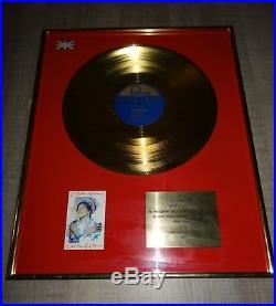 Oleta Adams Gold Record Award Disc Presentation No Riaa No Bpi Uk Cirkel of One