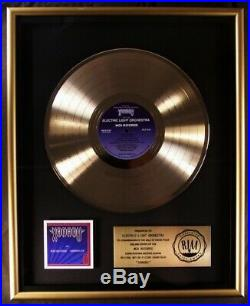 Olivia Newton-John ELO Electric Light Orchestra Xanadu LP Gold RIAA Record Award