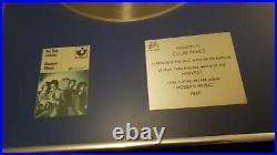 Original rare Be Bop DeLuxe 1977 silver platinum gold record disc Bpi award rock