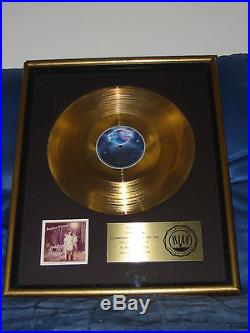 Pointer Sisters Riaa Gold Album Sales Award For Energy 1978 Record Springsteen