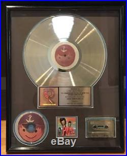 PRIMUS Tales From the Punchbowl RIAA Gold Record Award 17x21